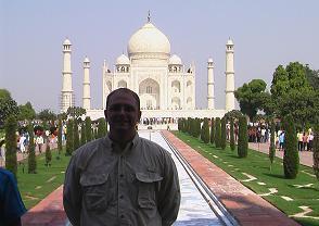 Bill and the Taj Mahal
