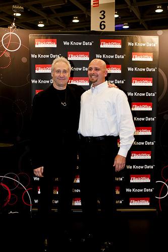 Brent Spiner (Data) and Bill Peer