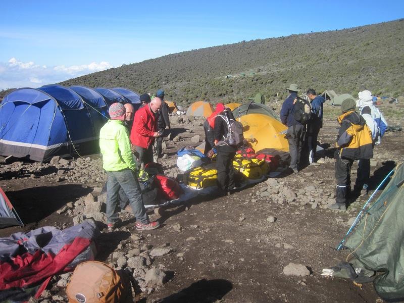 Kilimanjaro Preping.