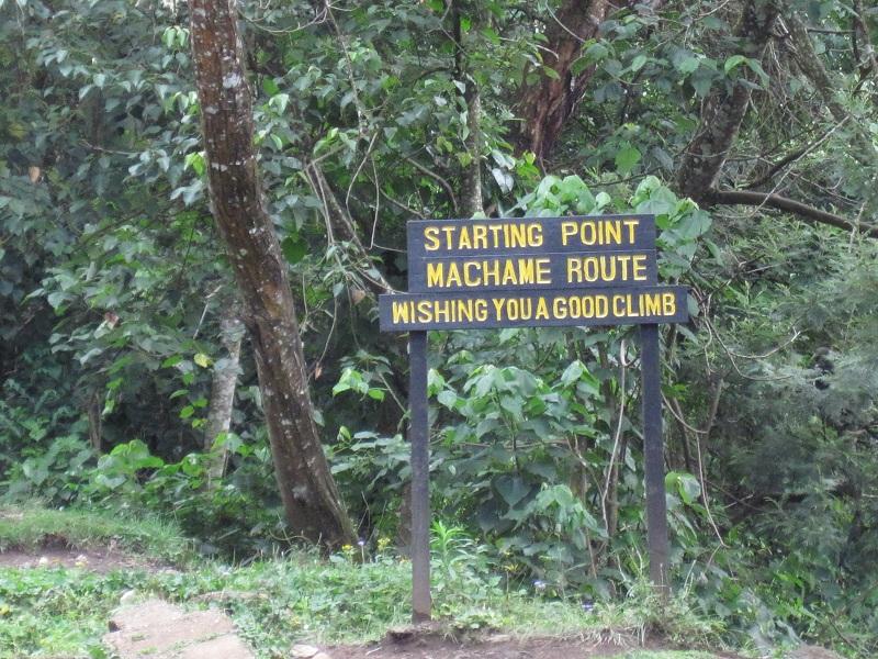 Kilimanjaro Machame Whiskey Route