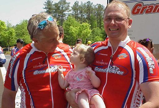 Bill KJ and Greg LeMond