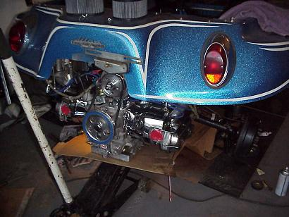 Test Fit of the 2027cc engine