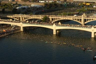 Arizona Ironman Swim Start