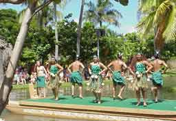 Hawaii Oahu Polynesian Center Dancers