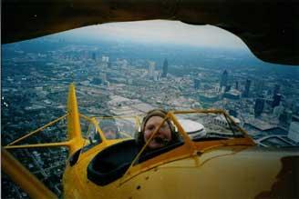 BiPlane flown by Val
